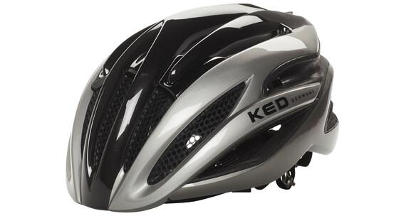 KED Wayron Kask czarny/srebrny